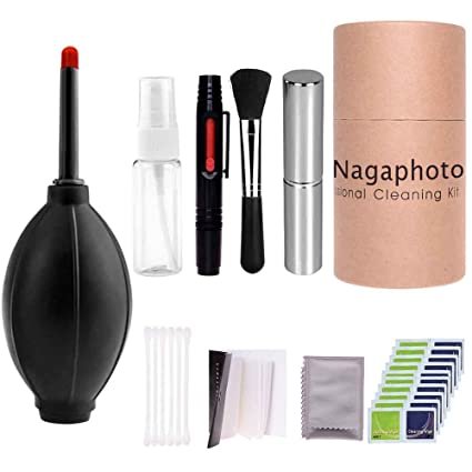 24-Piece Camera Cleaning Kit for DSLR Cameras, Cleaning Pen Brush, Air Blower