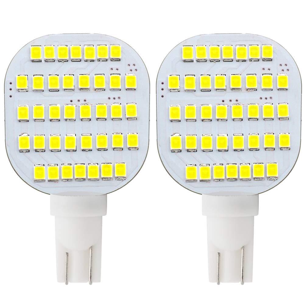 GRV T10 921 922 912 LED 38-2835 SMD AC/DC12V-24V RV Ceiling Dome Light RV Interior Lighting Trailer Camper Cool White Pack of 2(3.0Generation)