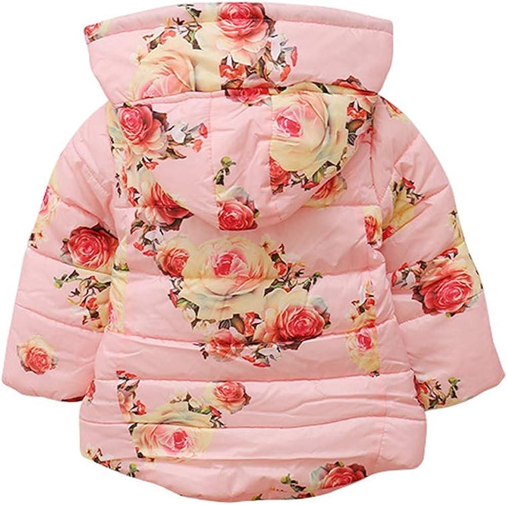 Kids Cotton Coats Thick Jacket DAZISEN Hooded Outerwear Kids Fashion
