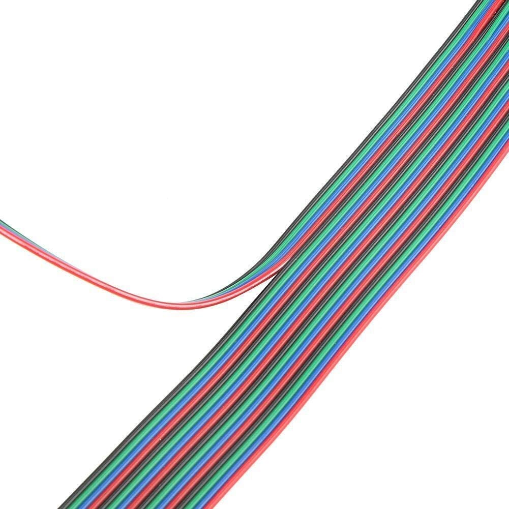 Maxmartt 5pcs PH2.0-XH2.54 Female-Female Connector Cable for Nema16 Nema17 Stepper Motor