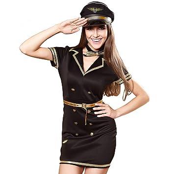 Amazon.com: Halloween Uniform Disfraz de Espía de Agente de ...