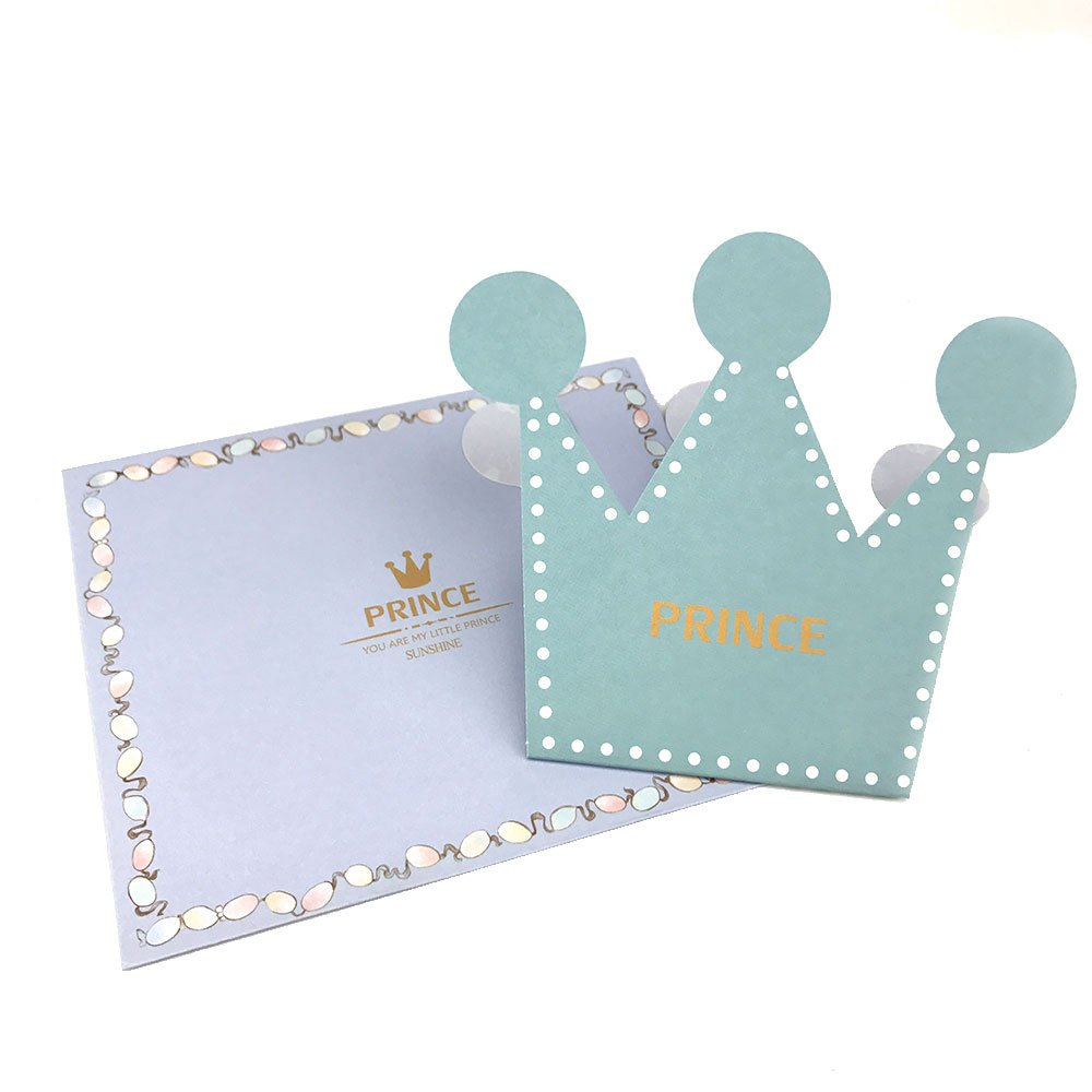 Amazon.com: 50 piezas rosa azul Prince corona de princesa ...