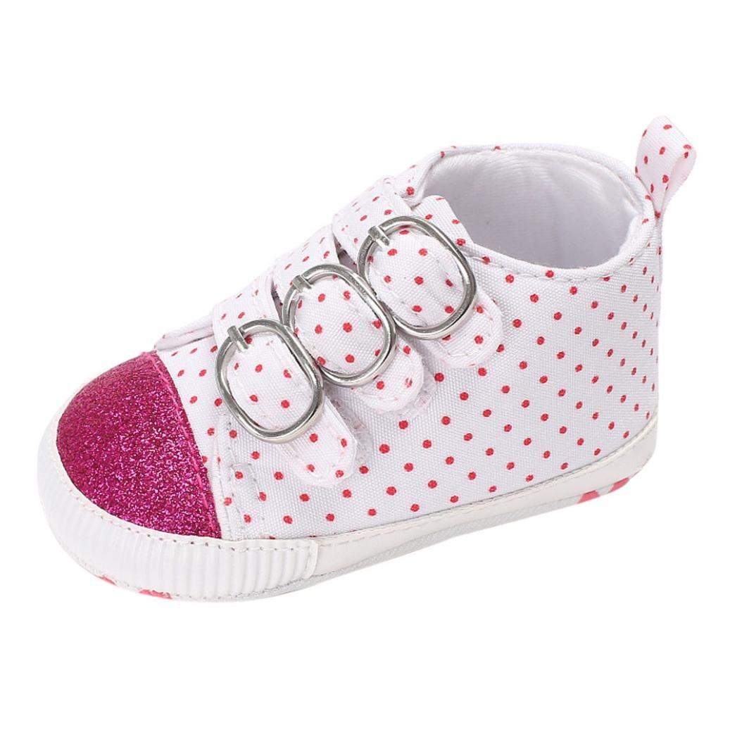 Amiley Autumn Winter Baby Shoes Girl Newborn Crib Soft Sole Bling Sneakers
