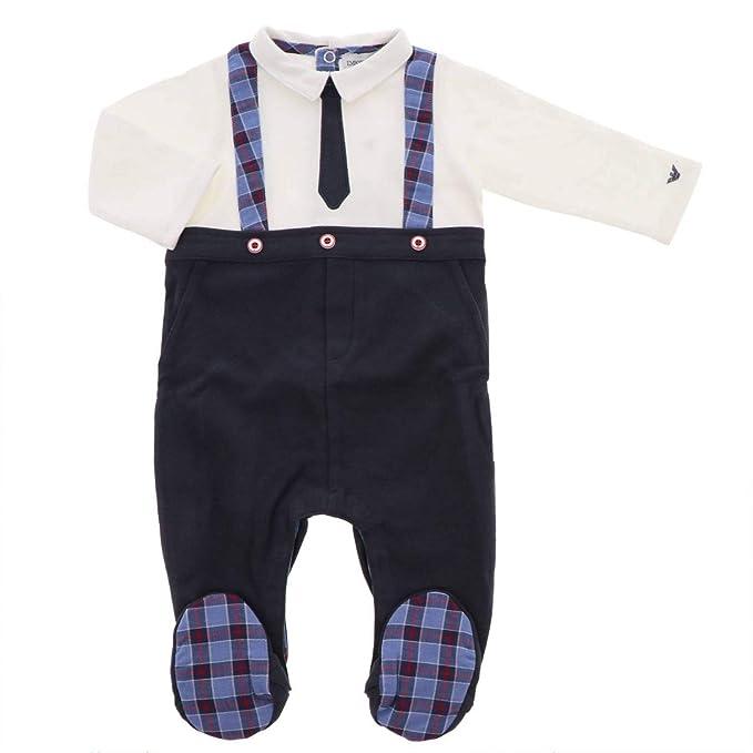 innovative design ff1bc 21136 Armani Neonato Bambino 6ZHD17 Blu Tuta Inverno: Amazon.it ...