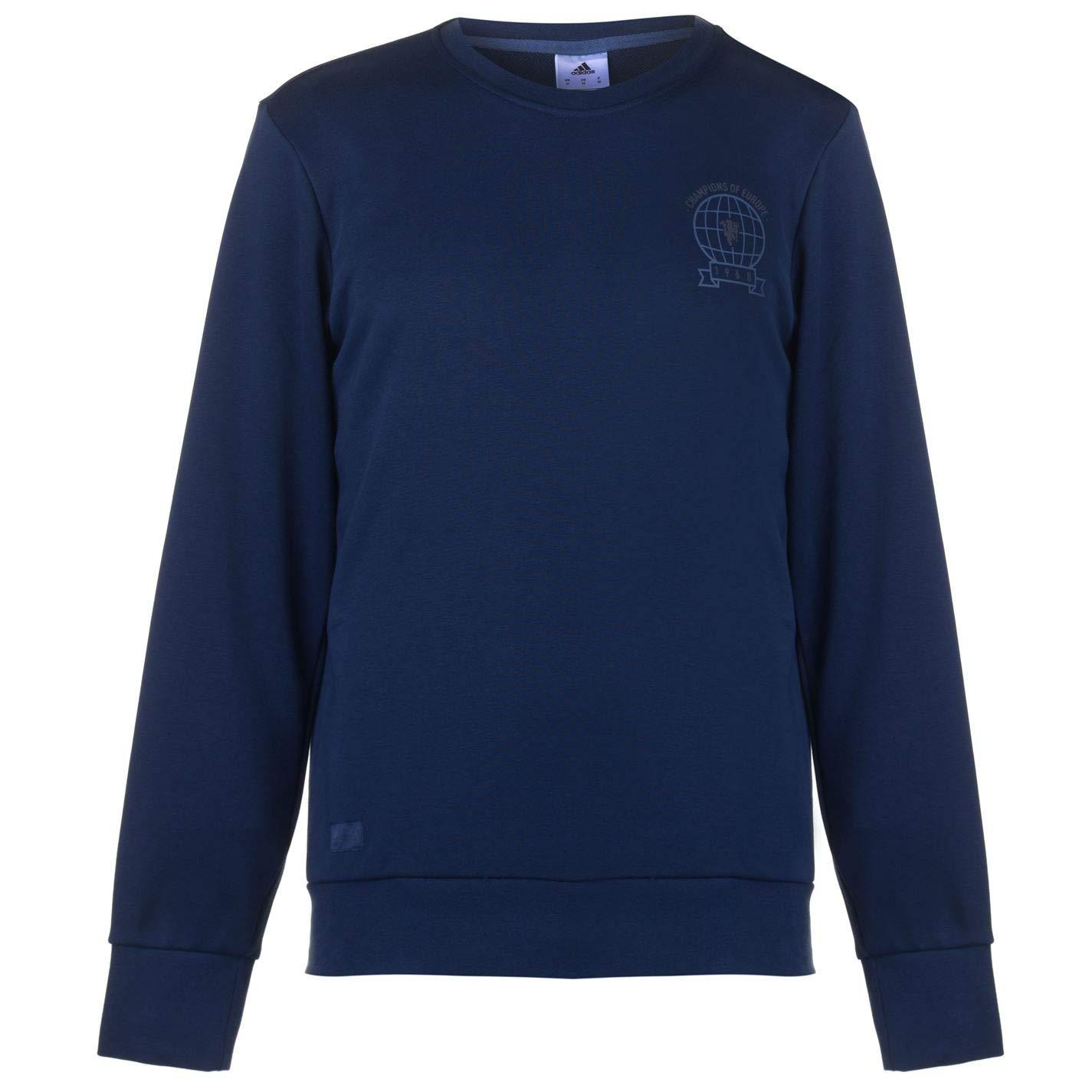 Adidas Herren Manchester United Graphic Sweat Top Sweatshirt