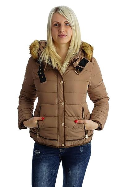 40Amazon it Marrone Stile Donna Impero Giacca Fashion4young KF1TlcJ