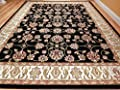 Black Traditional Area Rugs Persian Rugs 8x10