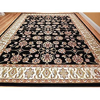 new traditional rugs allover pattern area rugs 8x10 clearance under 100 black cream beige green persian rug for living room large 8x11