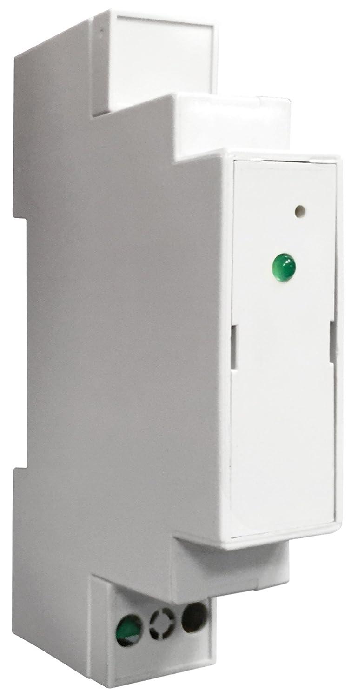 Gabarr/ón 90000105 Medidor de Potencia para Equipos de Calefacci/ón 230 V Blanco