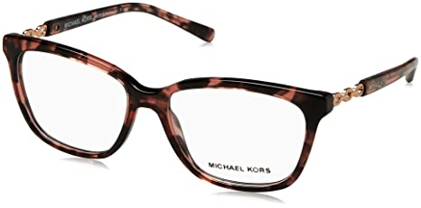 f5babea4c34 Image Unavailable. Image not available for. Colour  Michael Kors MK8018  Sabina IV Glasses in Pink Tortoise MK8018 3108 ...