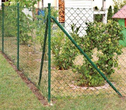 Gut Komplettset Maschendrahtzaun/ Zaunhöhe 50cm - Länge 15m: Amazon.de  DW25