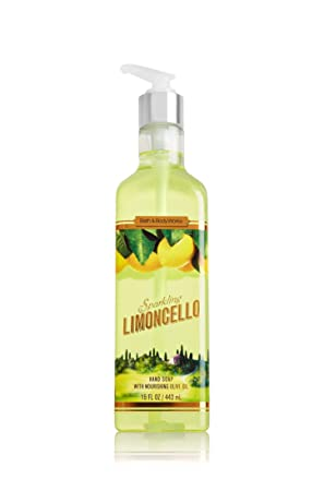 Bath and Body Works Sparkling Limoncello Hand Soap and Hand Lotion with Nourishing Olive Oil 15.5 oz each – Twin Pack