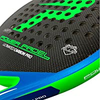 Pala Power Padel Ultimated Carbon Pro Green / Blue Mate: Amazon.es ...