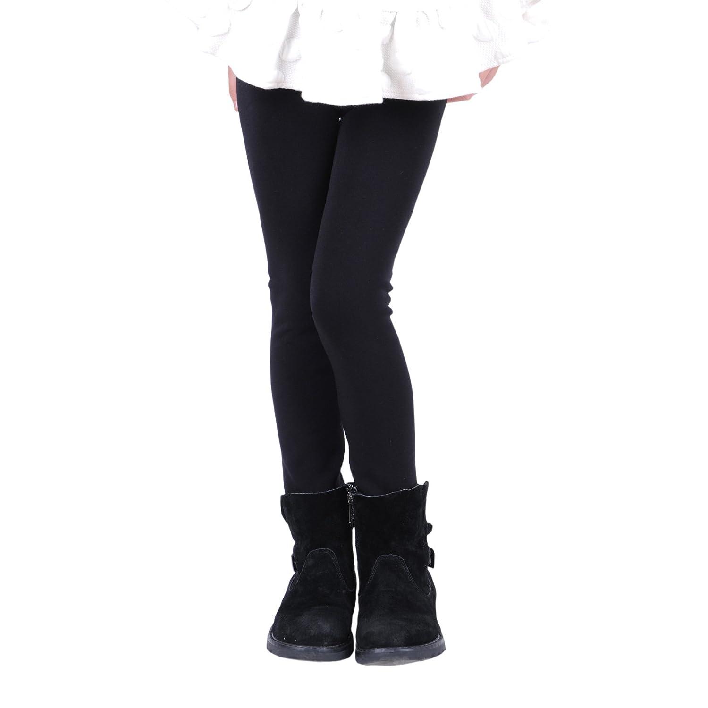 Innabella Girls Winter Thick Warm Velvet Elastic Leggings
