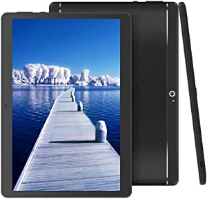 "BeyondTab 10 inch Android Tablet Unlocked Pad with Dual SIM Card Slot 10.1"" IPS Screen 4GB RAM 64GB ROM 3G Phablet Built-in Bluetooth WiFi GPS Tablet (2019 Version)"