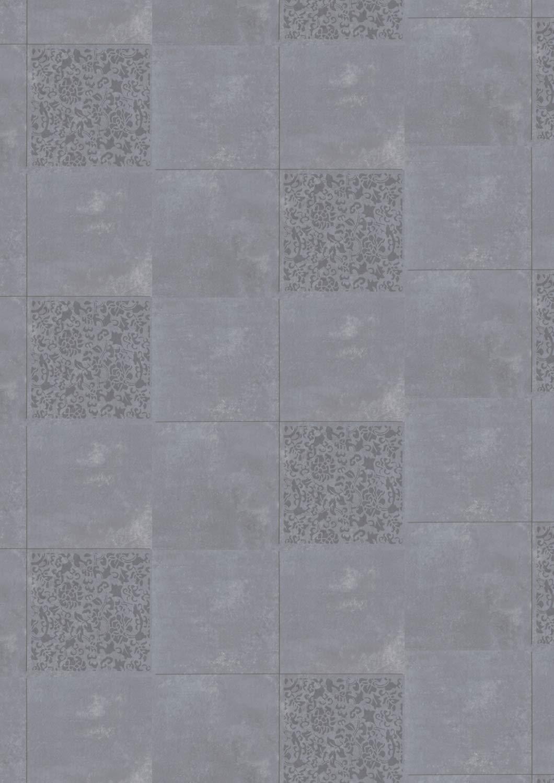 Sparpaket 5 m/² Gerflor Design 0633 Palermo PVC-Fliesen Fliese//Keramik Vinyl-Fliese selbstklebend