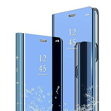 TVVT Espejo Funda para Huawei P Smart 2019, Mirror Cuero ...