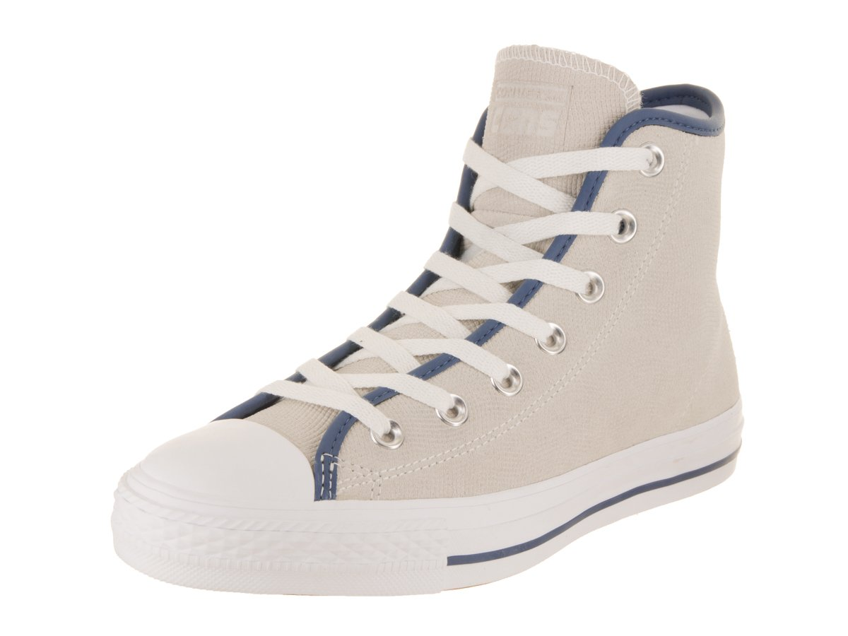 Converse Unisex Chuck Taylor All Star Pro Hi White/Mason Blue/Gum Basketball Shoe 5 Men US / 7 Women US