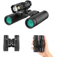 Runspike 10x25 Hunting Binocular with Fill Light