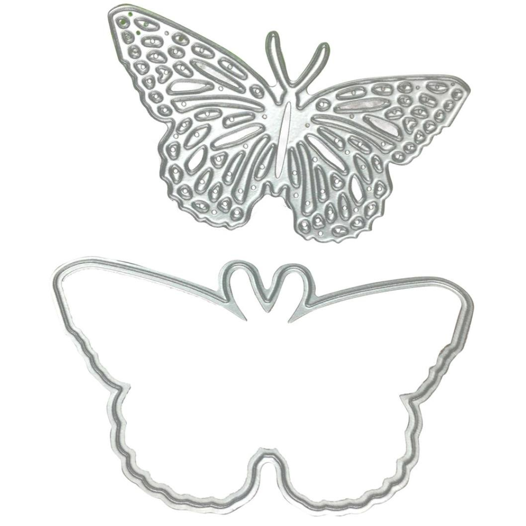 Clearance!VESNIBA Christmas Metal Dies Cutting Die for Cards Making Butterfly Embossing Stencils for DIY Craft