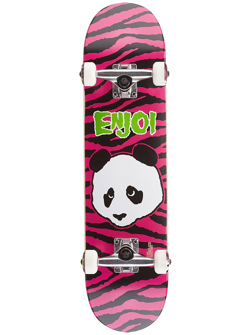 Enjoi Zebra Punk First Push Youth - - - skateboard completo - rosa - 18,7 cm B0725C53LT Parent | Prezzo ottimale  | Qualità E Quantità Garantita  | Aspetto Attraente  | Qualità E Quantità Assicurata  | La prima serie di specifiche complete per i clienti  57a501