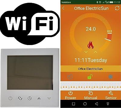 Termostato programable via internet wifi sobre votre Smartphone ...