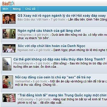 Baomoi online dating