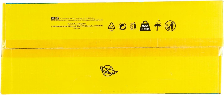 5 Packungen /à 18 Huggies Unistar Pentabox Gr/ö/ße 5 11-25 kg 90 Windeln