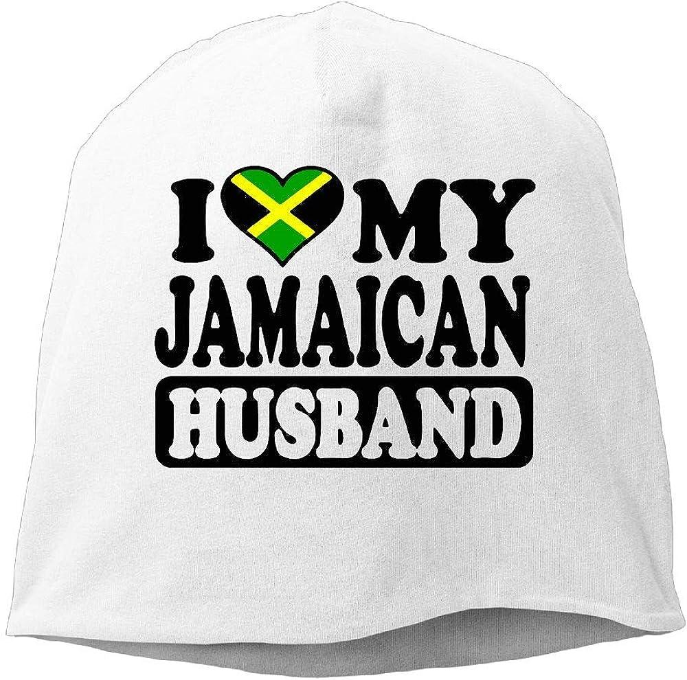 SHA45TM Jamaican American Flag Jamaica USA Men /& Women Winter Helmet Liner Fleece Skull Cap Beanie Hat for Skiing Black