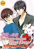 The World's Greatest First Love / Sekai Ichi Hatsukoi Season 1 + 2 (TV 1 - 26 End + Movie) (DVD, Region All) English subtitles Japanese anime