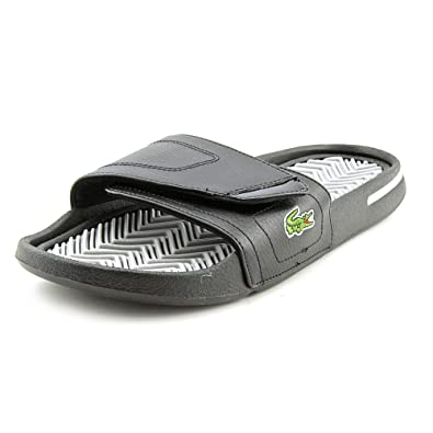 d0fdaf1bf2a9 Lacoste Molitor Slides Sandals Shoes Mens  Amazon.co.uk  Shoes   Bags