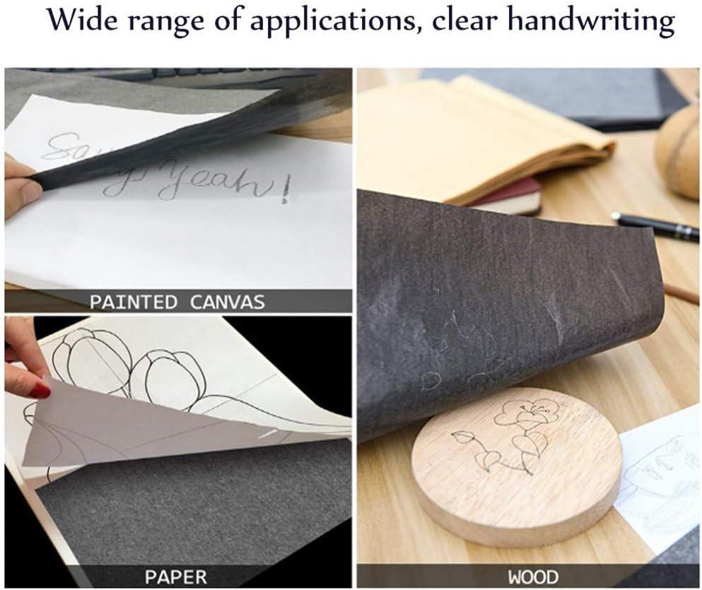 100Pcs Carbon Paper Transfer Copy Sheets Graphite Tracing A4//A5 Z4U6