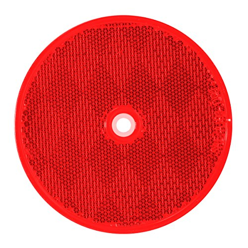 (Grand General 80824 Round Red 3-1/4