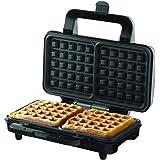 Borosil Neo Waffle Maker, 1000 W, Silver