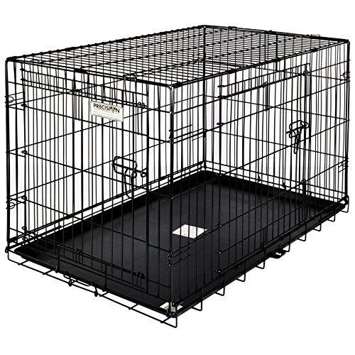 (Precision Pet by Petmate 2 Door Great Crate with Precision Lock System Wire Dog Crate, 6 Sizes)