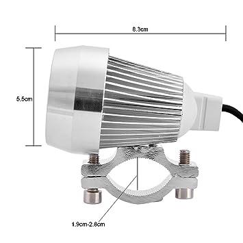 Faro delantero, keenso Proyector Lámpara LED Spot bombilla lámpara ...