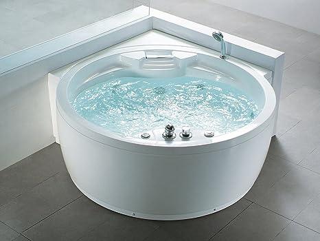 Whirlpool Round Indoor Spa Jacuzzi Bath Spa Milano Amazon De Küche Haushalt