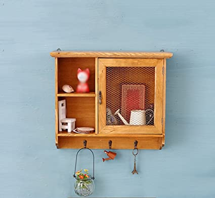 WENBO HOME- Barbed wire wall storage cabinet wooden entrance wall ...