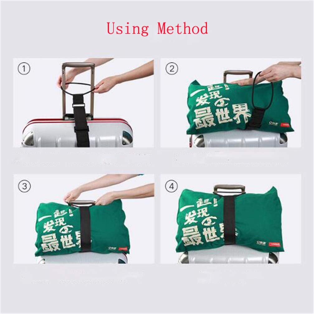 LJSLYJ Multifunction Elastic Telescopic Luggage Strap Travel Bag Parts Adjustable Baggage Bungee Luggage Belts Suitcase Fixed Belt