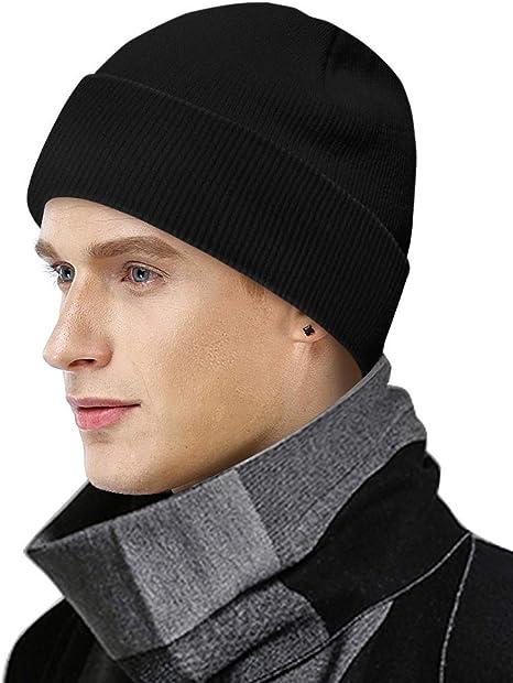 Unisex Cappello Uomo e Donne Elegante Morbida Calda AHAHA Berretto Uomo Invernali Lana