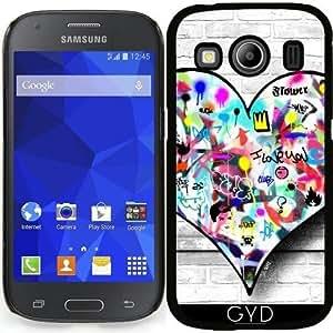 Funda para Samsung Galaxy Ace 4 (SM-G357) - Corazón by Paslier
