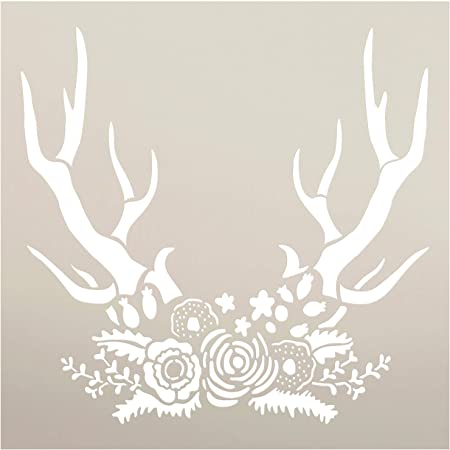 Reindeer Head Template Stencils Pinterest 10