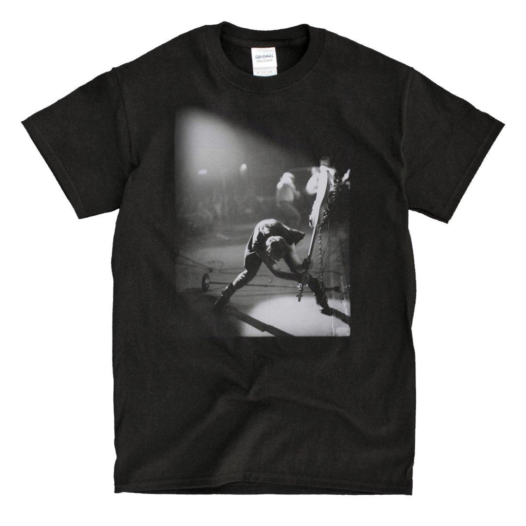 The Clash London Calling Black Tshirt