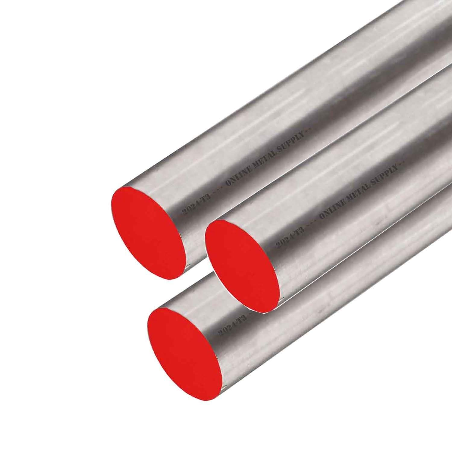 Online Metal Supply W-1 Tool Steel Drill Rod 0.1750 x 36 inches 3 Pack #16