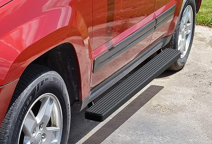 "For 05-10 Grand Cherokee 3/"" Chrome Stainless Side Step Bar Rail Running Board Hd"