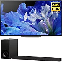 Sony BraviaXBR65A8F 65 4K HDR10 HLG Dolby Vision Triluminos OLED TV 3840x2160 HTZ9F 3.1Ch 4K HDR Compatible Dolby Atmos Soundbar with Built-in WiFi & Bluetooth