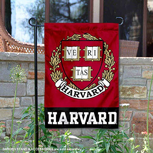 College Flags and Banners Co. Harvard Crimson Coat of Arms Garden Flag ()