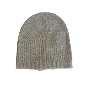 159e97e48a5 Amazon.com  Kate Spade Gathered Bow Beanie (Grey Melange)  Clothing