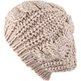 Gilroy Sombrero Invierno ganchillo de lana para tejer trenzada ... a9f65777996