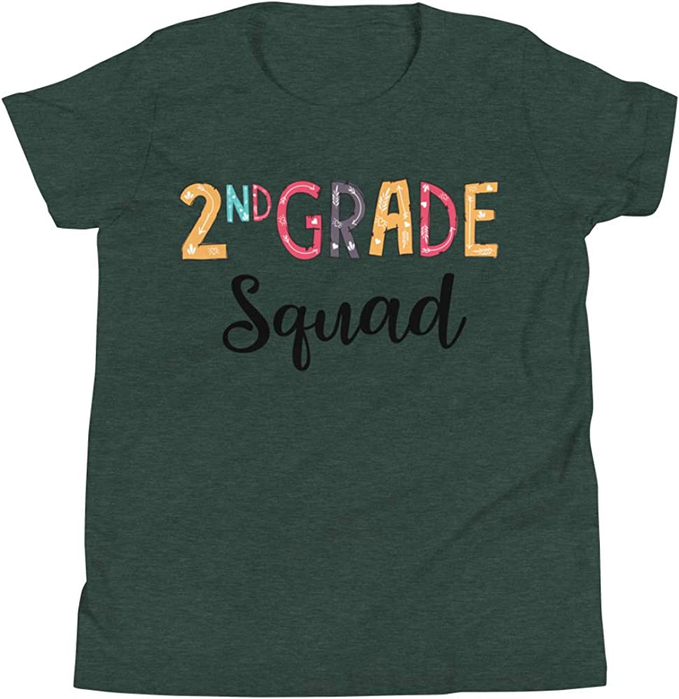 Little Shark 2nd Grade Squad T-Shirt Funny Second Grade Tee Shirt Back to School Tees Gift